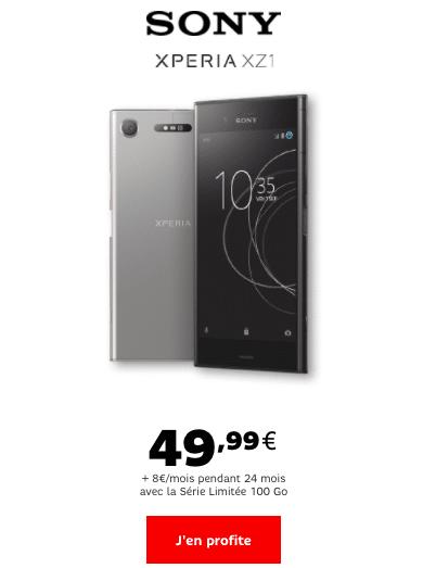 smartphone SFR Sony