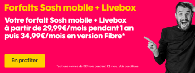 Sosh box et mobile