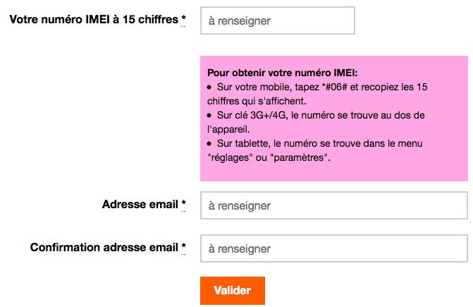 Pour débloquer son téléphone Orange on peut se rendre sur le site internet