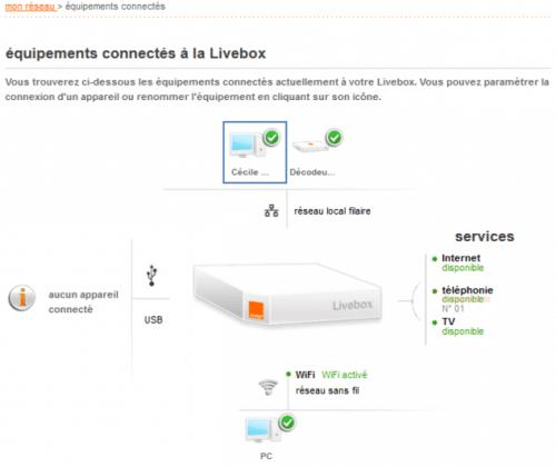 Le contrôle parental de Orange se fait aussi via la Livebox