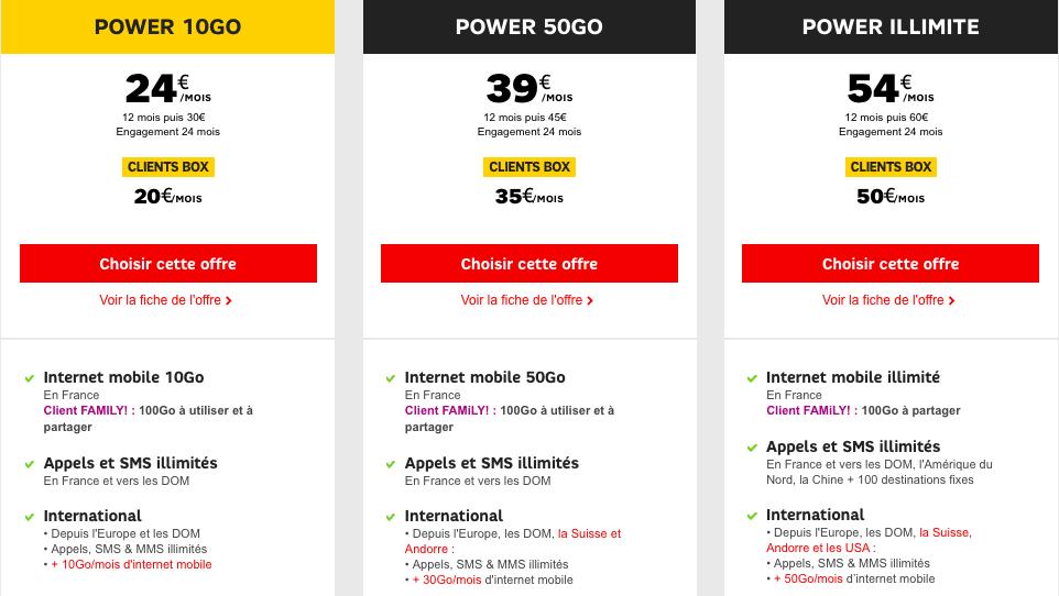 SFR vous rembourse jusqu'à 50 sur l'achat d'un smartphone Samsung