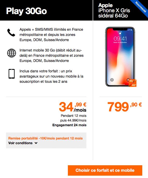 En effectuant une portabilité, vous pouvez obtenir 5€ de réduction sur votre forfait Orange.