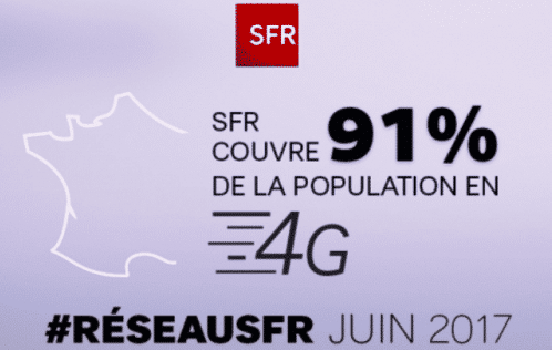 SFR altice poursuit le déploiement de la 4G