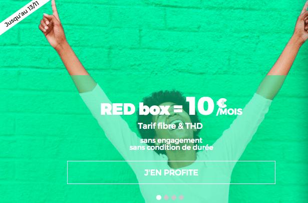 red sfr fibre optique 10e