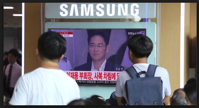 Le scandale de l'arrestation du vice président de Samsung n'est pas passé inaperçu