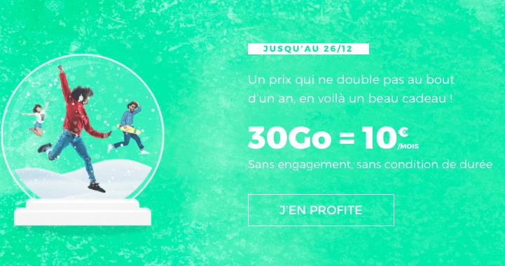 30 Go pour 10€ avec RED by SFR