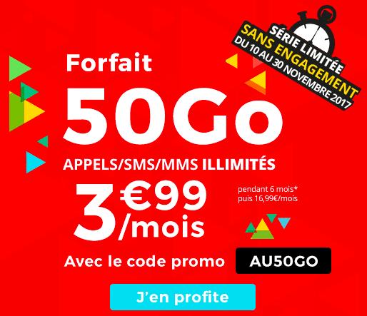 promo forfait Auchan