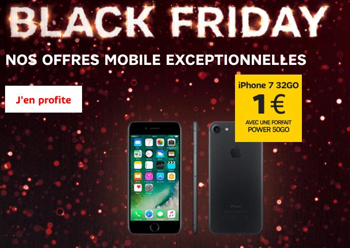 iPhone 7 à 1€ avec SFR