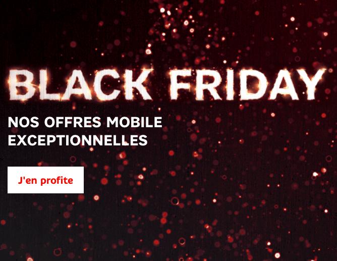 Offres Black Friday SFR