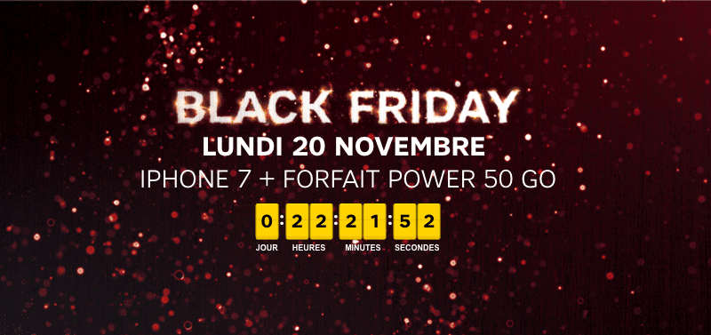 Sfr Iphone  Black Friday