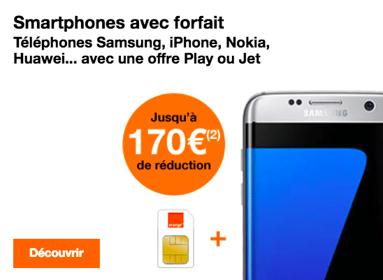 Orange Friday promo S7