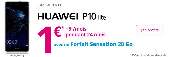 Bouygues Telecom promo huawei