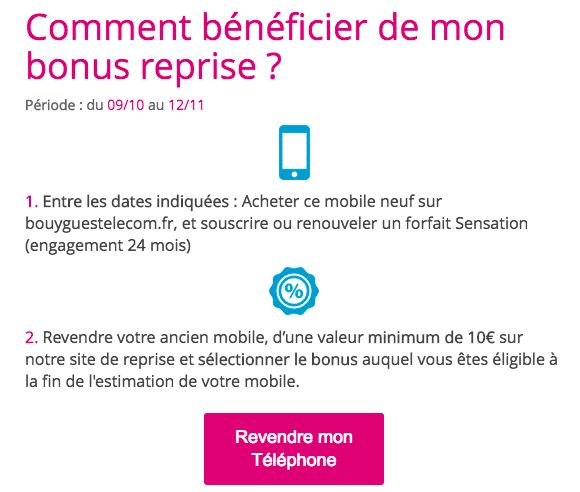 iPhone 7 Apple Bouygues