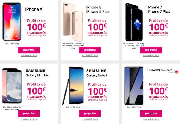 promo bouygues smartphones