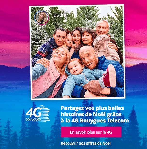 Bouygues telecom services 4G