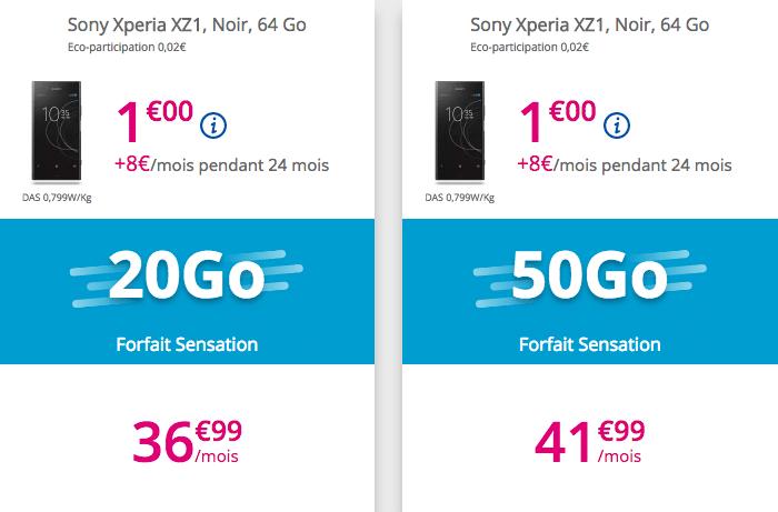 Bouygues telecom xperia XZ1