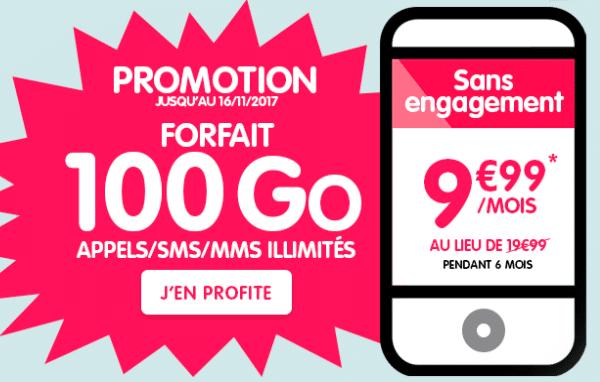 Le forfait à 10€ de NRJ Mobile