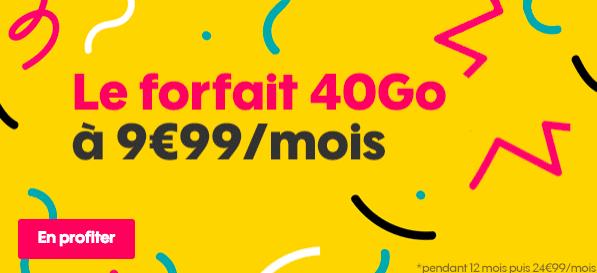 Forfait 40 Go Sosh