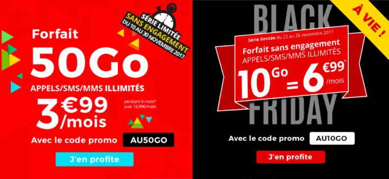 Forfait Auchan 50 Go