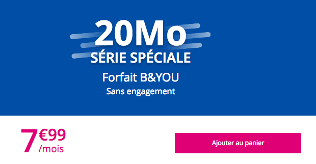 Forfait Byou 20