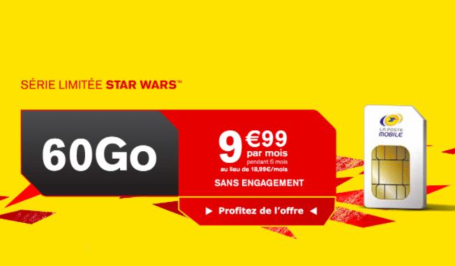 Forfait La Poste 60 Go