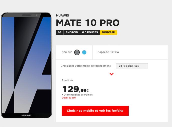 Huawei sfr mate 10