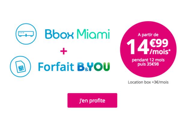 Bbox Miami Fibre Bouygues