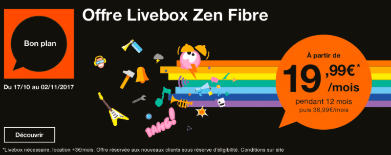Zen Fibre Livebox Orange