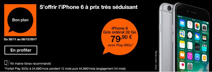 Orange iPhone 6