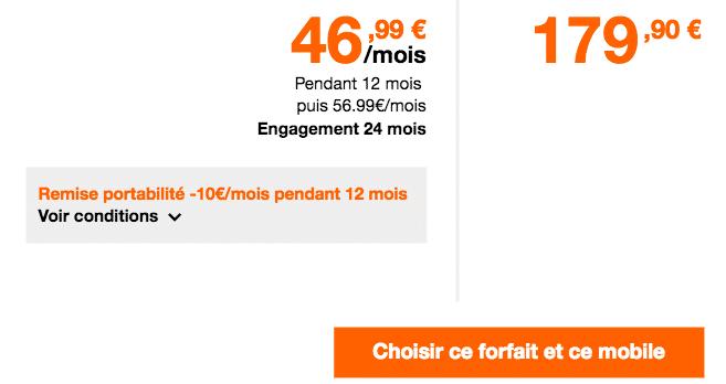 forfait Orange XZ Premium