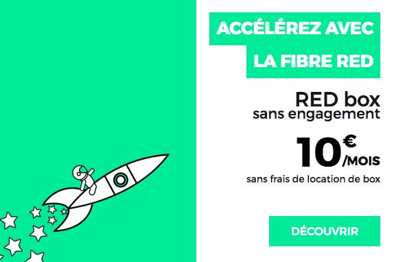 RED box internet 10€ promo