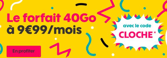 L'offre 40 Go de Sosh