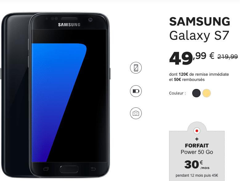 Samsung Galaxy S7 SFR