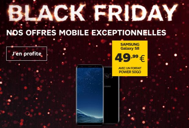 SFR Black Friday Galaxy S8