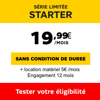 box internet Fibre SFR