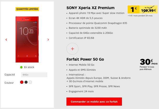 forfait Power XZ Premium