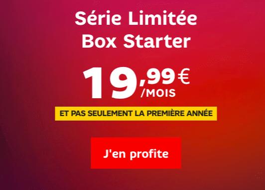 La box starter de SFR à 19,99€