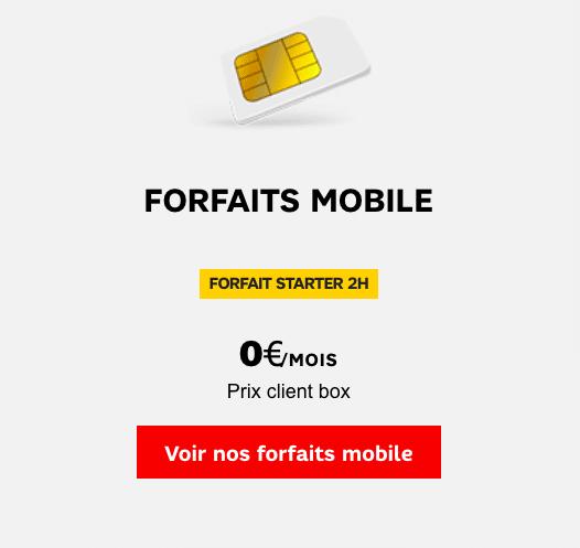 SFR affiche un forfait à 0€