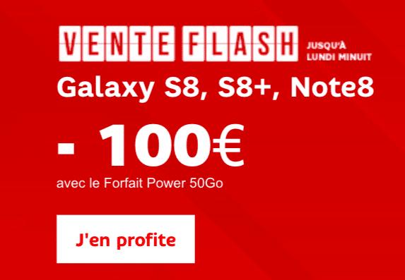 vente flash Samsung SFR