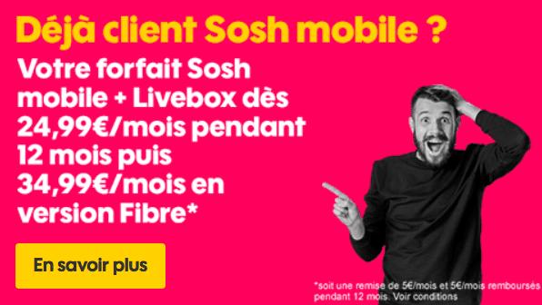 Sosh box et mobile