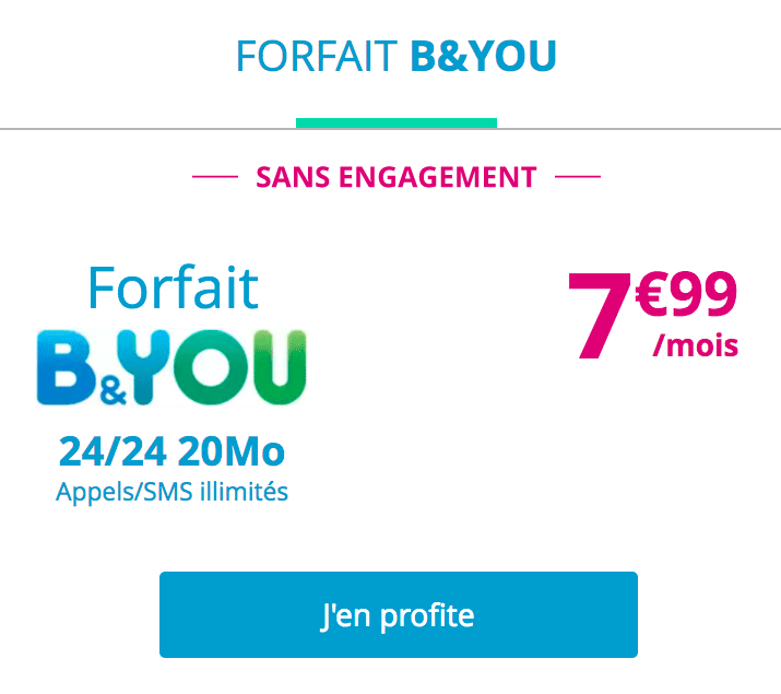 bouygues byou forfaits