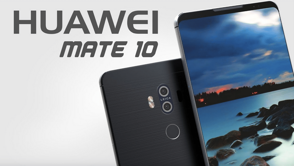 Huawei Mate 10 moins cher que l'iPhone X