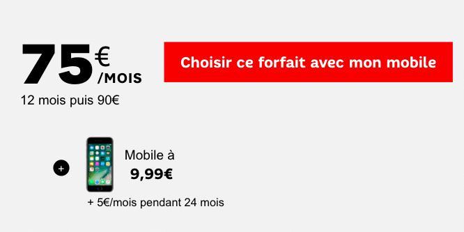 forfait premium iPhone 7