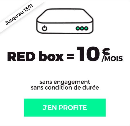 Complétez votre forfait RED by SFR 30 GO avec une box internet.
