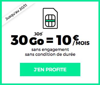 RED by SFR propose une promo sur son forfait à 10 euros