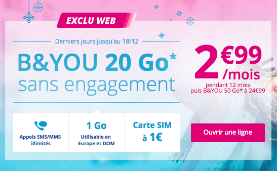 B&You forfait serie limitee