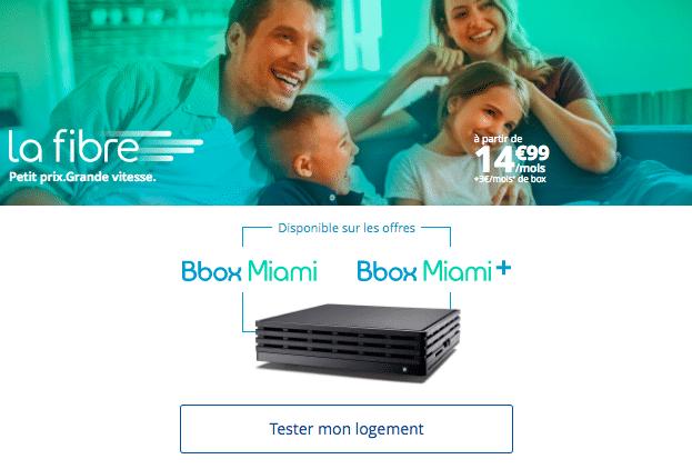 Bouygues Télécom bbox miami