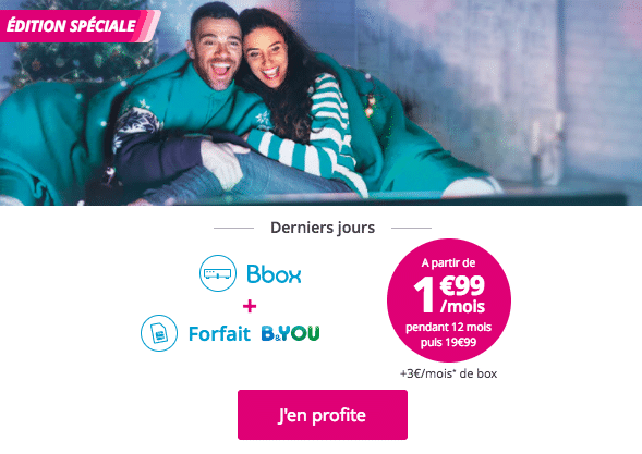 Bouygues box et b&you