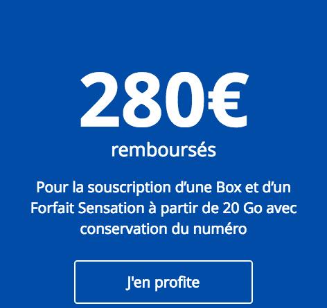 Bouygues telecom ODR 280e