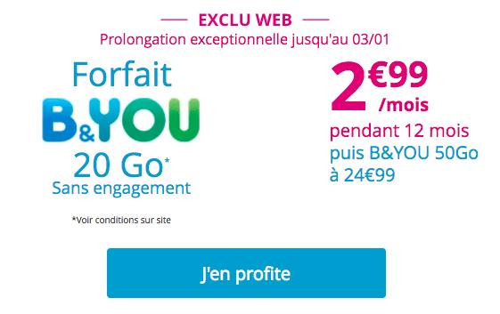 Bouygues telecom b&you promo